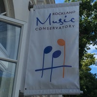 Photo taken at Rockland Conservatory Of Music by Ellen G. on 8/12/2015