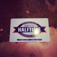 Photo taken at Halftime by Thomas W. on 11/15/2013