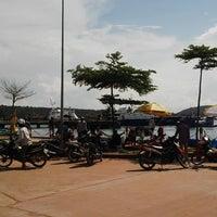 Photo taken at Cảng Cá An Thới by Ghi Tài P. on 10/30/2014
