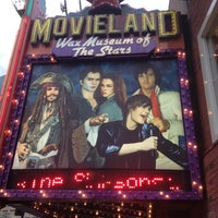 Photo taken at Movieland Wax Museum of the Stars by Wesley M. on 10/14/2012