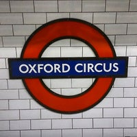 Photo taken at Oxford Circus London Underground Station by Kazuhisa Y. on 10/5/2013