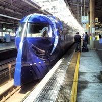 Photo taken at Nankai Tengachaya Station (NK05) by Kazuhisa Y. on 4/8/2013