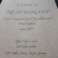 Photo taken at Costas Restaurant by Renee' A. on 5/18/2014
