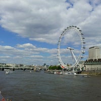 Photo taken at The London Eye by Lakshan D. on 6/2/2013