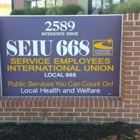 Photo taken at SEIU Local 668 by Christopher H. on 9/22/2014