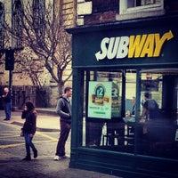Photo taken at Subway by Aidar M. on 4/7/2013