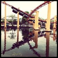 Photo taken at Iron Dragon by Chomp T. on 6/9/2013