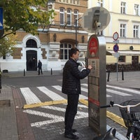 Photo taken at Krytyka Polityczna by Марина Б. on 10/30/2015