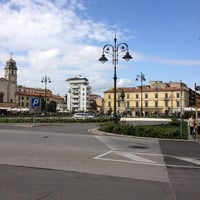 Photo taken at Piazza Vittorio Emanuele II by Artur D. on 4/9/2013