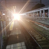Photo taken at Stasiun Cilebut by Anne A. on 9/17/2017