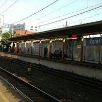 Photo taken at Stasiun Karet by Anne A. on 7/21/2016