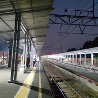 Photo taken at Stasiun Cilebut by Anne A. on 9/14/2017
