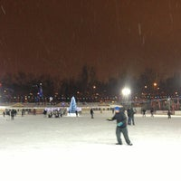 Photo taken at Каток «Новая лига» by Sofia V. on 1/1/2013