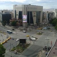 Photo taken at Kızılay by deniz Ü. on 6/16/2013