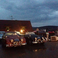 Photo taken at Hotel Pod hradom by Reštaurácia Pod Hradom on 6/30/2014