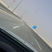 Photo taken at AlAhsa Dhahran Freeway by Ibrahim B. on 4/19/2015