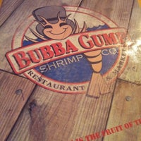 Photo taken at Bubba Gump Shrimp Co. by Nur A. on 12/20/2012