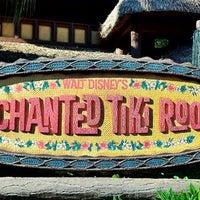 Photo taken at Walt Disney's Enchanted Tiki Room by Mike W. on 11/27/2012