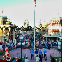 Photo taken at Main Street, U.S.A. by Mike W. on 11/24/2012