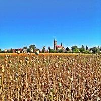 Photo taken at Veleliby kostel by IVa J. on 8/4/2013
