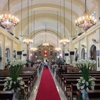 Photo taken at Santuario de San Antonio Parish by lewell  on 9/28/2013