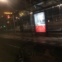 Photo taken at Tramhalte Station Zuid by Kam J. on 1/16/2016