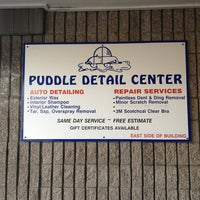 Photo taken at Puddle Car Wash by Angelika B. on 1/6/2013