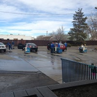 Photo taken at Puddle Car Wash by Angelika B. on 2/4/2013