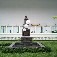 Photo taken at Universitas Katolik Indonesia Atma Jaya by michelle h. on 1/26/2013