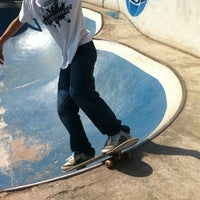 Photo taken at Suicide Skate Park by rusbs on 9/7/2013
