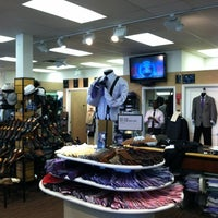 Photo taken at Men's Wearhouse by Tim K. on 9/30/2012