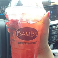Photo taken at BAMBU Desserts & Drinks by Cathy H. on 6/15/2014