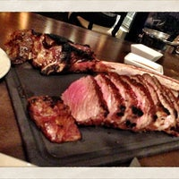 Photo taken at 35 Steaks + Martinis by Nicole P. on 3/23/2013
