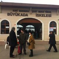 Photo taken at Büyükada Mavi Marmara Motor İskelesi by Elif K. on 2/2/2013