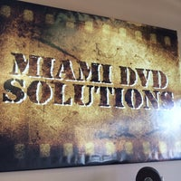Photo taken at Miami DVD Solutions by meli g. on 2/13/2014