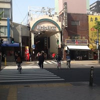Photo taken at 相合橋筋商店街 by Tomohiko M. on 4/15/2013
