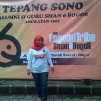 Photo taken at SMA Negeri 6 Bogor by Dewi C W. on 5/25/2013