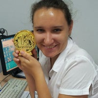 "Photo taken at Офис ""Семь Ветров"" банка ""Экспресс-Волга"" by Olga I. on 9/10/2013"