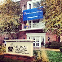 Photo taken at Adams Alumni Center by Pamela S. on 10/13/2012
