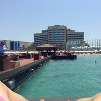Photo taken at Sheraton Çesme Hotel, Resort and SPA by Osman K. on 7/7/2013