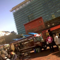 Photo taken at Off the Grid: UN Plaza by Lil M. on 1/8/2013
