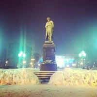 Снимок сделан в Пушкинская площадь пользователем Anna A. 3/30/2013