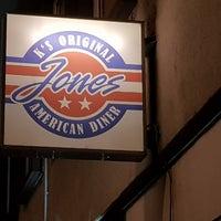 Das Foto wurde bei Jones - K's Original American Diner von Holger S. am 3/6/2018 aufgenommen