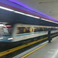 Photo taken at Panzdahe Khordad Metro Station by Volodymyr S. on 5/8/2017