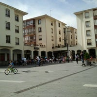 Photo taken at Plaza Somovilla by Carlos E. on 9/16/2012