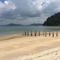 Photo taken at Teluk Dalam Beach Resort by Егор С. on 1/30/2016
