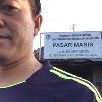 Photo taken at Pasar Manis. Purwokerto by Khuswantoro I. on 7/29/2014