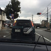 Photo taken at 示野橋詰交差点 by (゚∀゚) on 12/26/2015