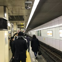 Photo taken at Midosuji Line Daikokucho Station (M21) by (゚∀゚) on 11/25/2017