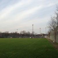 Photo taken at Südstadion by Patrick P. on 12/1/2012
